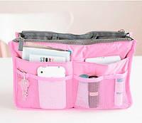 Органайзер Bag in bag maxi розовый, фото 1