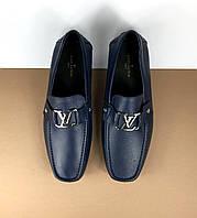 Мужские мокасины Louis Vuitton (Луи Виттон) арт. 39-34, фото 1