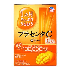 Питьевая плацента в форме желе со вкусом манго Otsuka Placenta C Jelly Mango (на 31 день) 310g