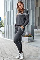 Шикарный костюм для отдыха 1223 (44–50р) в расцветках, фото 1