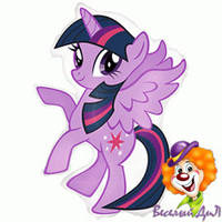 "ПОНИ MLP Twilight Sparkle 14""(35см) мини-фигура"