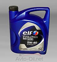 Масло моторное Elf 5w-40 Evol.900 SXR 5л, фото 1