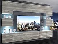 Меблі для вітальні IMPERIUM (12 елементів) сірий