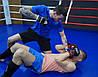 Рукавички для MMA PowerPlay 3056 А Чорно-Білі S, фото 7