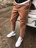 Мужские спортивные штаны коричневые U2, фото 1