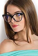 Стильные имиджевые очки без диоприй