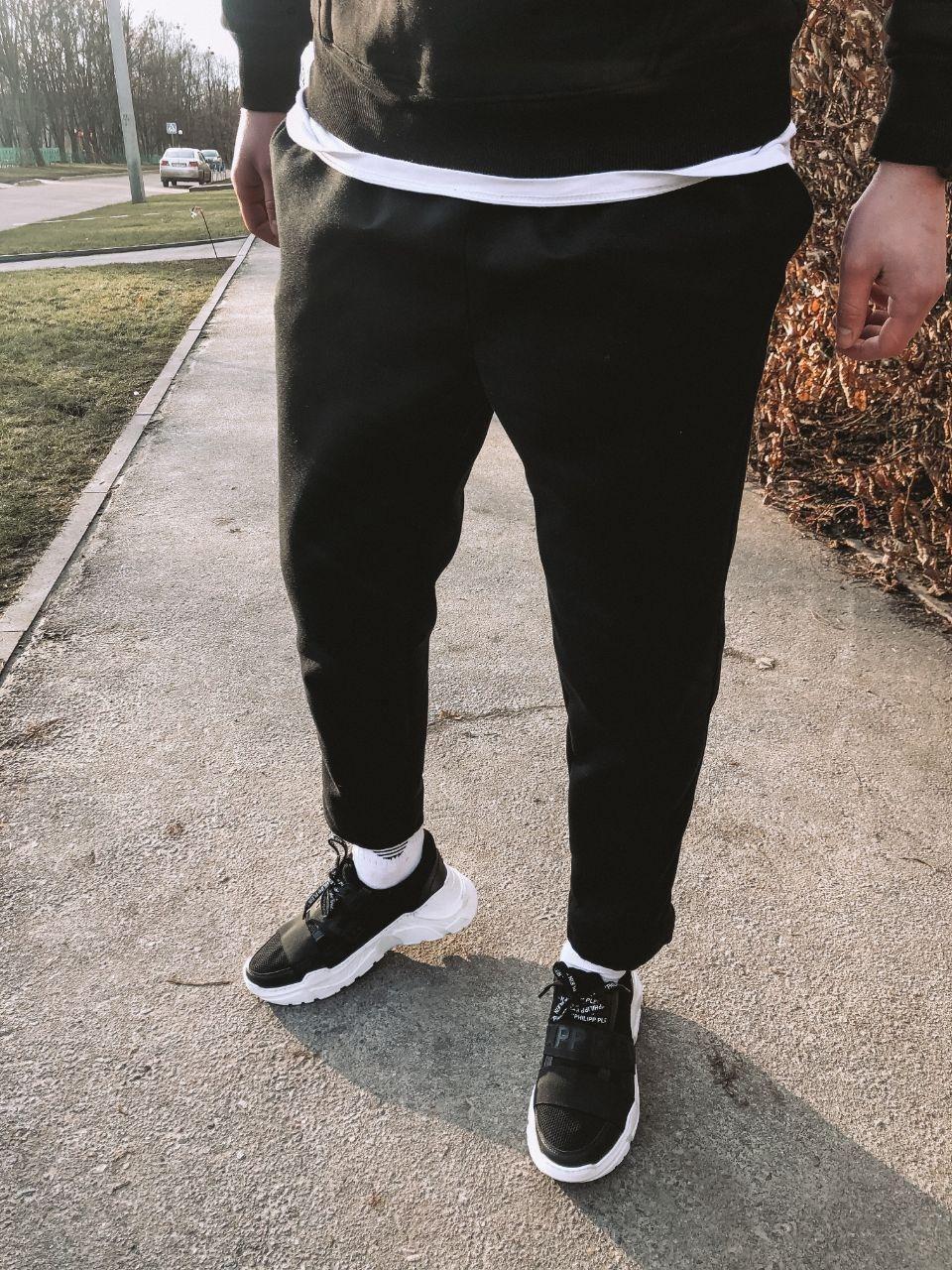 Мужские спортивные штаны черные U3
