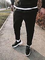 Мужские спортивные штаны черные U3, фото 1