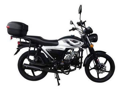 Мотоцикл Forte ALFA NEW FT125-K9A Черный, фото 2