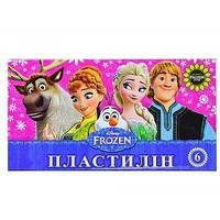 Пластилин 6 цветов Мицар+ Frozen (90 гр.)
