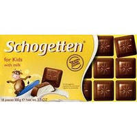 Шоколад молочный Schogetten for Kids(детский), 100г