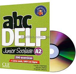 Французский язык / Подготовка к экзамену: ABC DELF Junior ScolaireA2+CD / CLE International