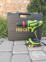 🔲 Шуруповерт аккумуляторный ProCraft PA 18-PRO с DFR патроном