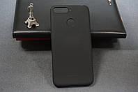 Чехол бампер силиконовый Huawei Y6 Prime 2018 (ATU-L31) Хуавей цвет черный Soft-touch