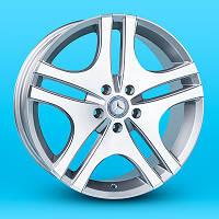 Replica Mercedes A-F033 7.5x18 5x112 ET43 DIA 66.6 GF