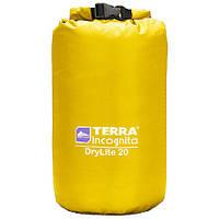 Гермомішок DryLite 40 жовтий Terra Incognita