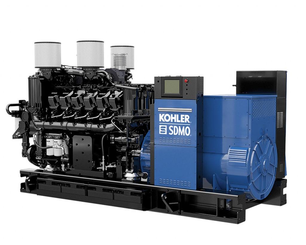 Трехфазный дизельный генератор SDMO KD2500 (2000 кВт)