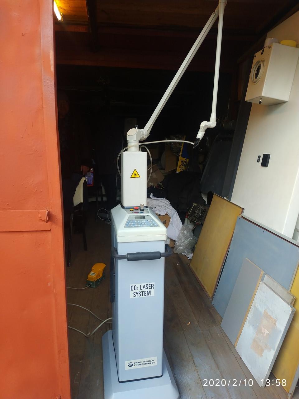 Фракционный лазер СО2   UM-L30A  Япония
