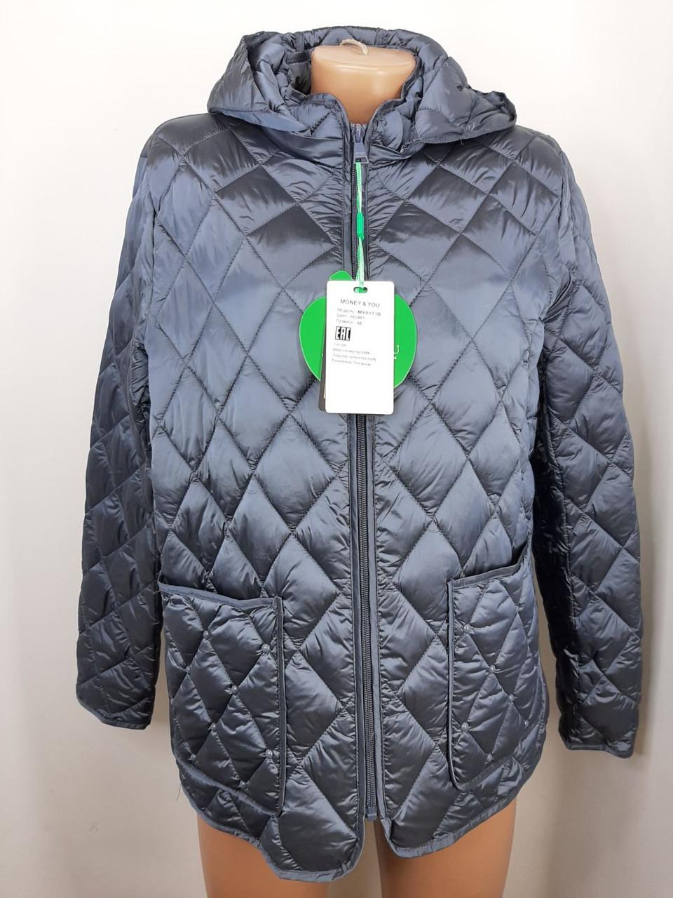 """""""Яблоко""""-демисезонная куртка Модель -8171В ( пудра,48,50,52,54,56), ( графит 48,50,52,54, 56)"""