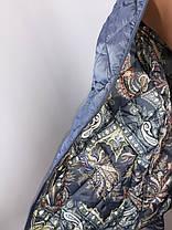 """""""Яблоко""""-демисезонная куртка Модель -8171В ( пудра,48,50,52,54,56), ( графит 48,50,52,54, 56), фото 2"""