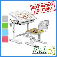 Ученические столы и стулья Evo-kids Evo-06