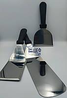 Набор лопаток из нержавеющей стали для работы на гриле и барбекю 3 шт.