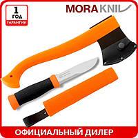 Набор Morakniv Outdoor Kit MG | туристический нож mora 2000 | мора топор | Made in Sweden