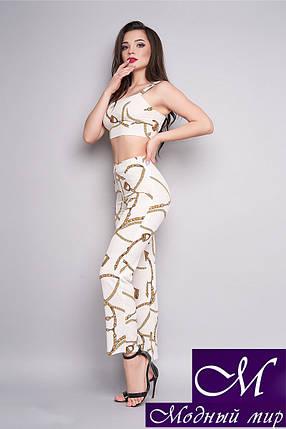 Женский костюм топ + брюки (р. 42, 44, 46) арт. 29-775, фото 2