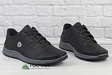 Кросівки чоловічі чорні 42, фото 3