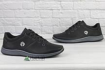 Кросівки чоловічі чорні 42, фото 2