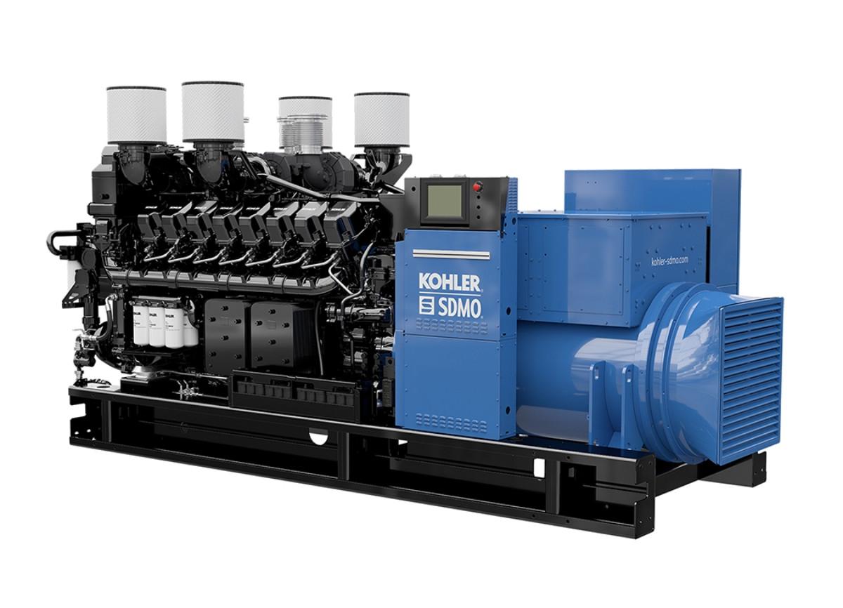 Трехфазный дизельный генератор SDMO KD3500 (2800 кВт)
