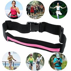 Спортивная сумка на пояс для бега Go Runners Pocket Belt/ спортивный пояс для телефона, цвета в ассортименте