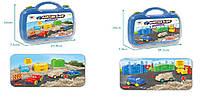 """Игра """"Живой песок"""" WLN-55/56 (20шт/2)Машины,2 вида,в наборе пасочки,в чемодане 26*7,5*29,5см"""