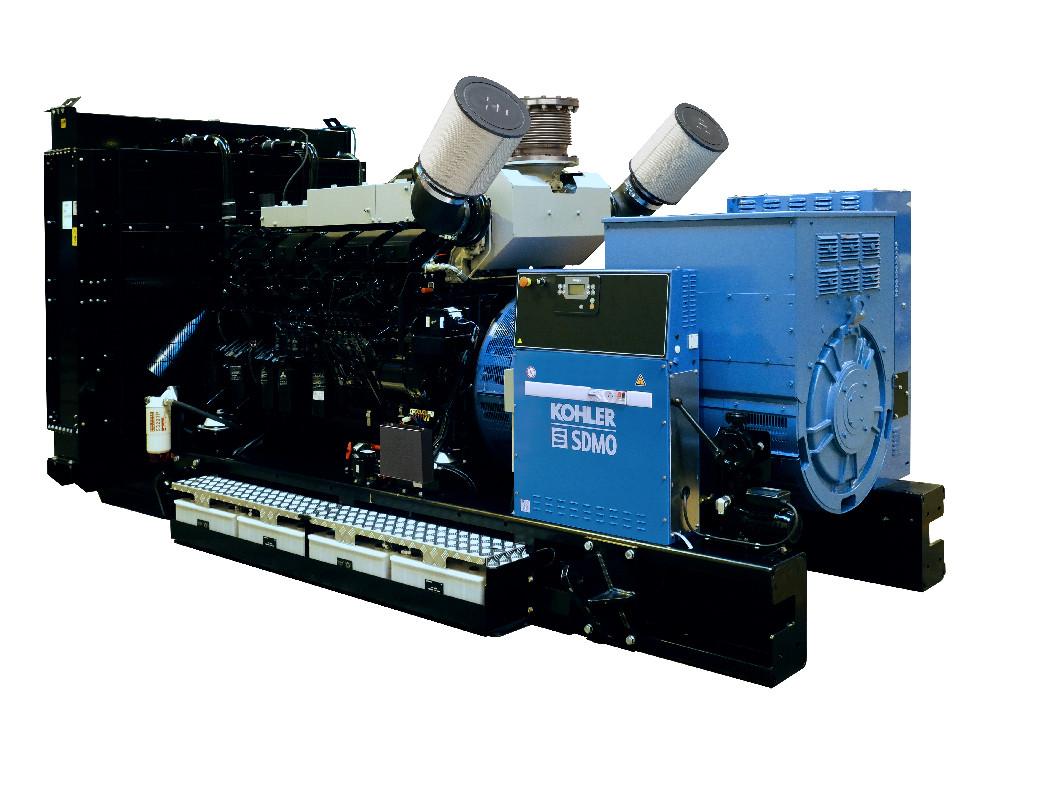 Трехфазный дизельный генератор SDMO T1250 (909 кВт)