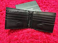Кожаный кошелек зажим на магнитах на много карточек Eremette