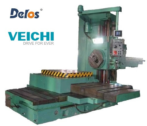 Комплект для модернизации станка 2620 комплект УЦИ и линейки DELOS, сервопривод SD700 VEICHI