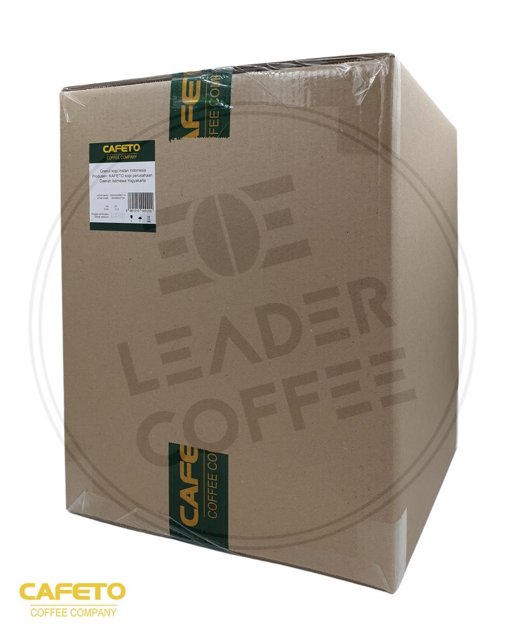 Кофе растворимый сублимированный Кафето, (CAFETO, Индонезия), 20кг