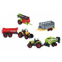 Спецтехника Same Toy Farm Трактор с прицепом (SQ90222-3Ut), фото 1