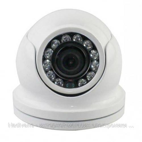 Антивандальная аналоговая ИК цветная камера видеонаблюдения LUX  4138NB