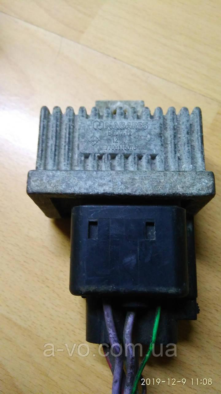 Реле свечей накала Renault Kangoo 1,9 1.5dci Renault Trafic 1.9dci 2001-2007р  7700115078