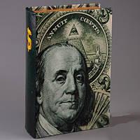 Книга сейф Бенджамин Франклин 26 см, фото 1