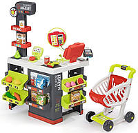 Детский интерактивный супермаркет Smoby Toys City Market 3+ 350213 для детей, фото 1