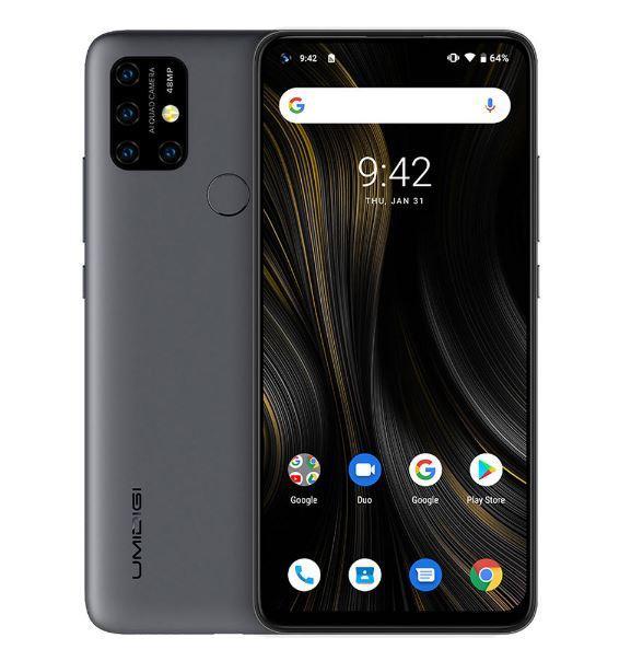 Смартфон UMIDIGI Power 3  Gray