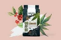 "Кава ""Галка"" 225г м/у Cannabis посмажена та змелена з коноплями (1/24)"
