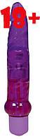 Анальный вибратор Jelly Anal Purple, фото 1