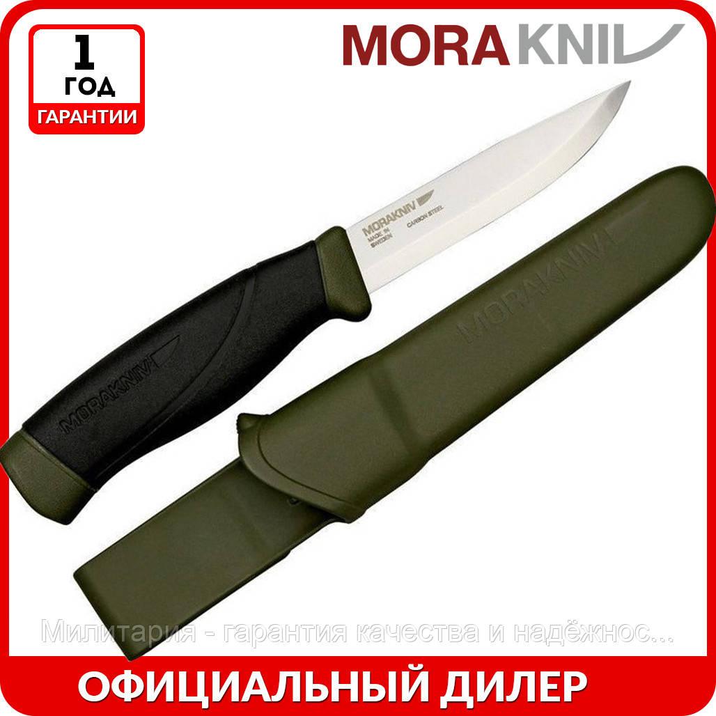 Нож Morakniv Companion MG Carbon   туристический нож mora 11863   мора Companion   Made in Sweden