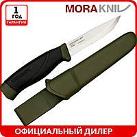 Нож Morakniv Companion MG Carbon | туристический нож mora 11863 | мора Companion | Made in Sweden