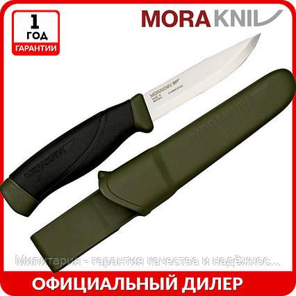 Нож Morakniv Companion MG Carbon   туристический нож mora 11863   мора Companion   Made in Sweden, фото 2