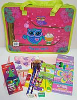 Подарочный набор в портфеле для детского сада для девочки