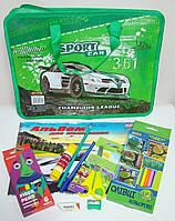 Подарочный набор в портфеле для детского сада для мальчика